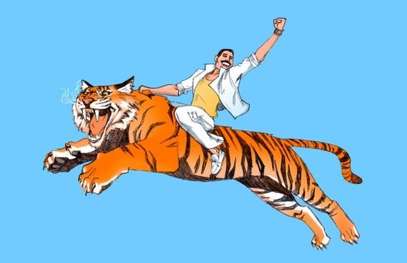 民企都是骑在虎背上,不是马背上