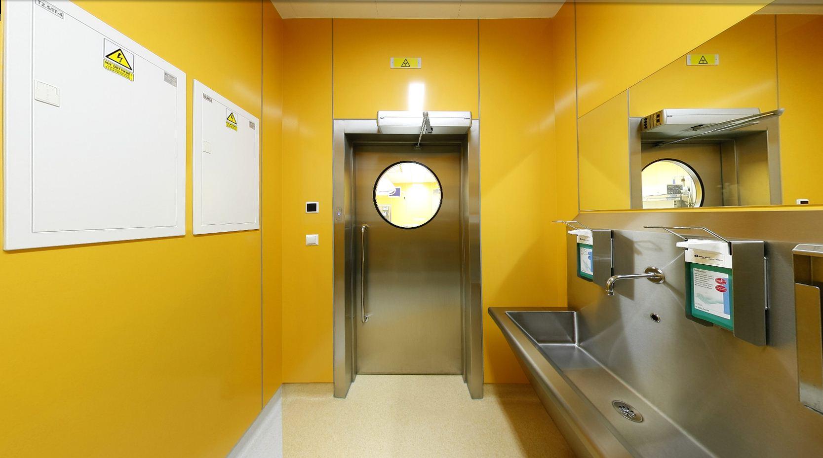当前大部分医院原有的手术室在空间布局