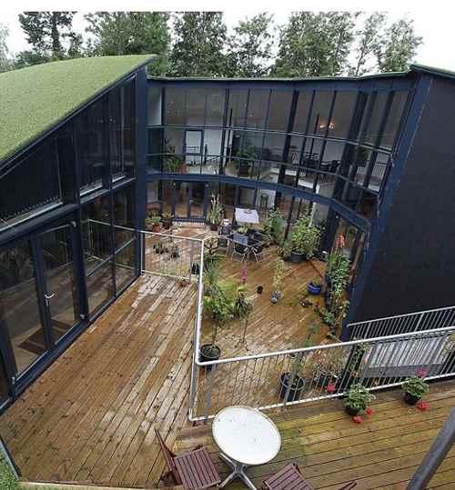 英夫妇将废弃蓄水池改造成豪宅(图)