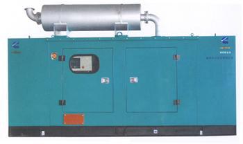 柴油发电机的工作原理,北京天津发电机出租 高清图片