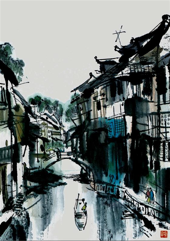 风景 古镇 建筑 旅游 摄影 560_794 竖版 竖屏