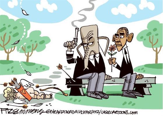 从健保案看美国游龙的党同伐异政坛漫画花花图片