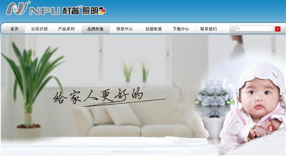 牵手陈好 耐普照明进入品牌提升年高清图片