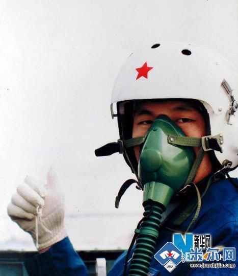 资料图:中国空军飞行员高清图片