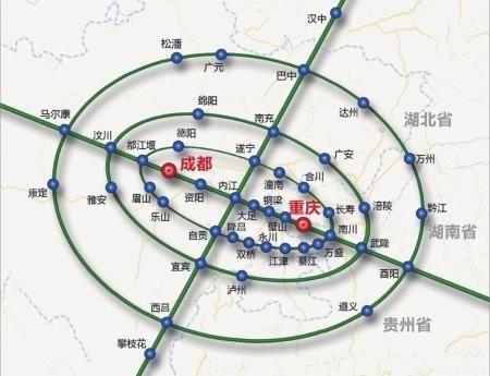 内江到荣昌地图