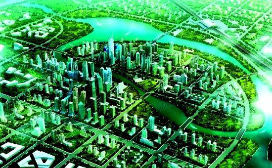 西咸新区沣西新城 西咸新区沣西图片欣赏下载