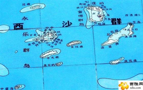 西沙群岛永兴岛,西沙群岛地图高清版
