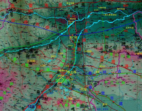 秦皇岛环长城旅游公路地图