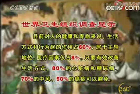 关注cctv新闻 我国启动中医治未病健康工程
