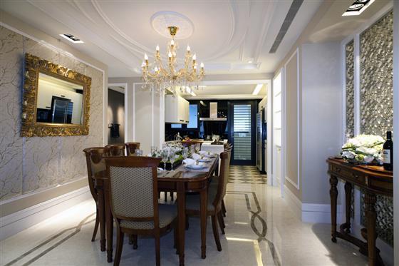 欧式装修风格中,典型的巴洛克装饰风格和洛可可风格.