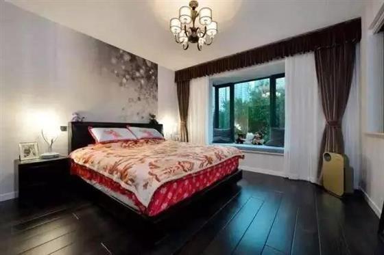 新房装修没做吊顶,石膏线都没做,效果简单漂亮,别具一格!