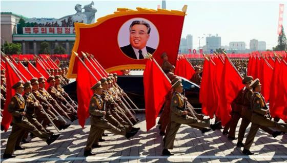 朝鮮舉行國慶70周年大閱兵