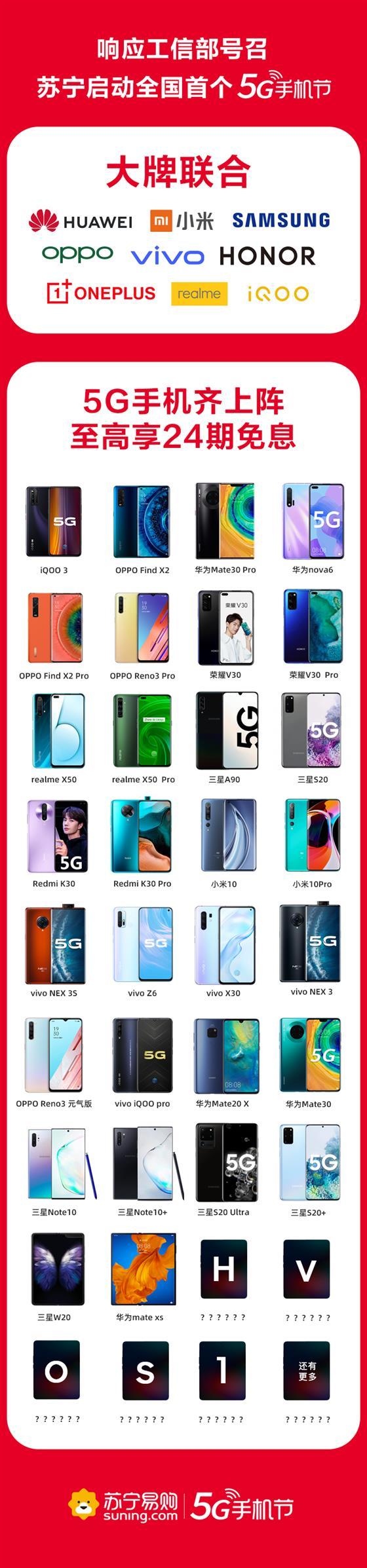 业内首个5G节背后,是苏宁引领的手机零售新变局