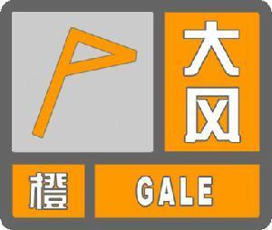 大风橙色预警信号 图标 -大风橙色预警信号 社会学概念