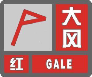 大风红色预警信号 图标 -大风红色预警信号 社会学概念